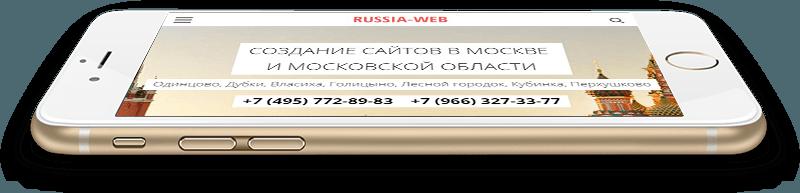 создание сайтов в московской области